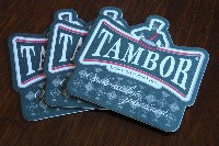 Pivní tácky TAMBOR starý