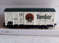 Modelový železniční vagónek